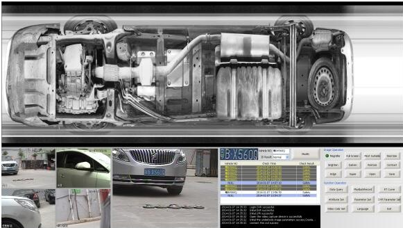 Fixed Under Vehicle Inspection System