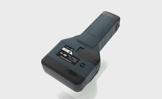 Detector de explosivos de mano